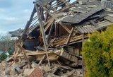 Į moters grasinimus Žagarėje žiūrėta pro pirštus, kol sprogo namas