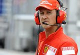 Paviešinti vilties teikiantys faktai apie Schumacherio sveikatą: pakilo iš lovos