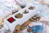 Elektros kainos Lietuvoje toliau mažėja iki rekordinių žemumų