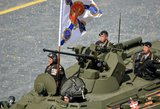 Įtampa auga: Ukraina prabilo apie tankus pasienyje