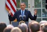 """Barackas Obama: rusiški """"S-300"""" Irano neapsaugos"""