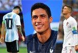 Lionelio Messi ir Cristiano Ronaldo dominavimą nutrauks vidurio gynėjas?