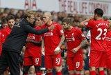 """Jurgeno Kloppo debiutas su """"Liverpool"""" pažymėtas lygiosiomis"""