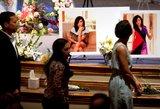 JAV palaidota po koncerto nušauta Christina Grimmie