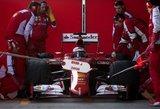 """""""Formulė-1"""": apie """"Ferrari"""" duobę ir kodėl Sebastianas Vettelis geriau nei Fernando Alonso"""