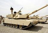"""Amerikiečių tankai """"Abrams"""" – jau Rukloje"""