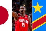 Netikėtos pasaulio vietos, iš kurių turime NBA žaidėjų