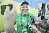 Aurimas Didžbalis: noriu, kad Lietuvos vardas skambėtų visose pasaulio arenose