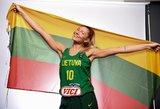 Moterys pradeda žygį į Europos čempionatą