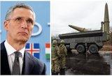 """NATO atsakas į """"Iskander"""" Kaliningrade: tikrai bus, tačiau ne """"akis už akį"""" principu"""