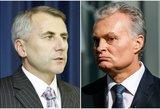 Panašūs, bet skirtingi: kuris rinkimuose mes stipresnę kortą – G. Nausėda ar V. Ušackas?
