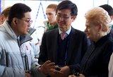 Dalia Grybauskaitė: korėjiečius domina galimybė investuoti Baltijos šalyse