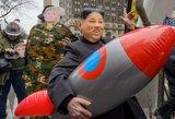 Šiaurės Korėja sutinka derėtis dėl branduolinės ginkluotės atsisakymo