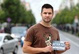 """Praėjusių metų """"Vilniaus maratono"""" finišas sugulė į eksperimentinį filmą """"After 42"""""""