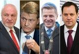 Generolai nenori kariauti: kodėl partijų vadovai nesiveržia į rinkimus?