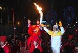 Ekstremalios olimpiados sąlygos: žemės drebėjimas, vėjas, ugnis