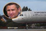 Skrydžio metu mirė keleivinio lėktuvo pilotas