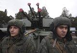 NATO: Rusija telkia modernią karinę techniką Kryme
