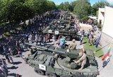 Lietuvoje – įšpūdingiausia NATO technika ir kariai