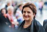 Seimo pirmininkė turi naują atstovę spaudai