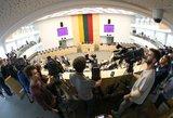 Nauji vyriausybės užmojai: žurnalistams – interesų deklaracijos, politikams draus valdyti žiniasklaidą