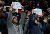 """""""Stoke City"""" sirgaliai reikalauja trenerio galvos"""