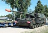 Lietuva ginkluojasi: sulaukėme šviežutėlių haubicų