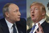 Trumpas ir Putinas išsirinko Europos sostinę savo susitikimui