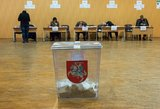 Lietuvoje vyksta rinkimai