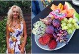 Moteris 27 metus valgo tik vaisius: tikina, kad taip maitintis turėtų visi