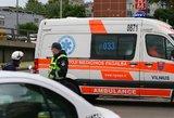 Kaimynų išpuolis kumščiais: nepilnametė atsidūrė ligoninėje