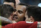 Pasaulio čempionatas: ispanai ir portugalai privertė gerokai sunerimti savo sirgalius