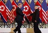 Trumpui ir Kim Jong Unui nepavyko pasiekti susitarimo