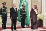 Putinas išbalęs klausėsi Rusijos himno: tokio varianto dar neteko girdėti