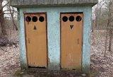 Vietoj lauko tualetų siūlo modernius įrenginius