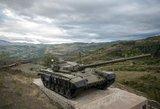 Kalnų Karabache, nepaisant raginimų siekti taikos, susirėmimai vyksta antra diena