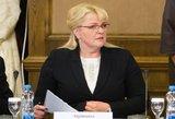 Seime padvelkė interpeliacija Algimantai Pabedinskienei