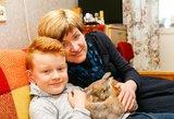 Skaudi vilniečių realybė: mama su sūnumi neįgalūs, o šeimą palikusiam tėvui – vėžys