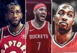 """Blogiausi pirkiniai NBA vasaros žaidėjų turguje: ar jie paneigs """"katės maiše"""" etiketę?"""