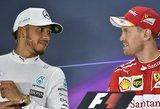 """Formulės 1"" starte – Sebastiano Vettelio triumfas"