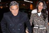 Saugodamas savo dvynius, Holivudo žvaigždė George'as Clooney kreipsis į teismą