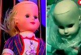 Mistinės jėgos neva apsėdo šią lėlę: moteris ir jos vaikinas naktį patyrė siaubą