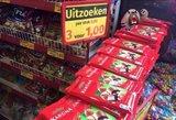 Pasibaisėjo: lietuviškas šokoladas Olandijoje tris kartus pigesnis