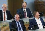 Stringa derybos dėl ministrų: klausimas dėl Verygos lieka atviras