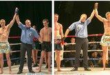 Broliai dvyniai – užkariauja Lietuvos ringą
