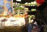 Maisto kainos sustojo augti – džiaugsmas ilgai netruks