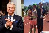 Smagus sutapimas: rinkimų dieną bėgimo varžybas laimėjo Gitana ir Nausėda