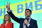 Zelenskis pradėjo darbą įsakydamas surengti pirmalaikius rinkimus
