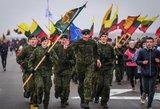 Lietuvos įstojimo į NATO metines paminėjo ypatingu bėgimu