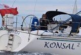Neeilinė operacija jūroje – prie Lietuvos krantų gelbėjama jachta